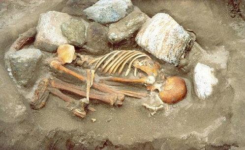 最古老木乃伊 - 英最古老木乃伊 不同人骨拼成