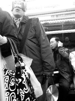北京地鐵蒙面哥 - 地鐵蒙面哥