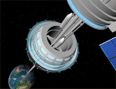 太空電梯 - 美國公司稱50年後將有太空電梯