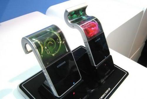 "Samsung2012年推出""屈機"" -                   Samsung屈機"