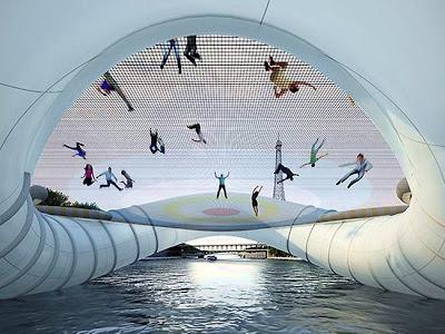 巴黎彈床橋