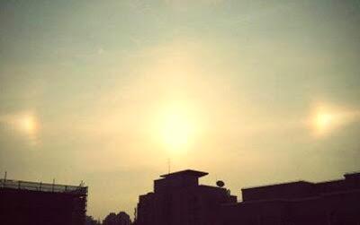 3個太陽 - 上海驚現3個太陽?