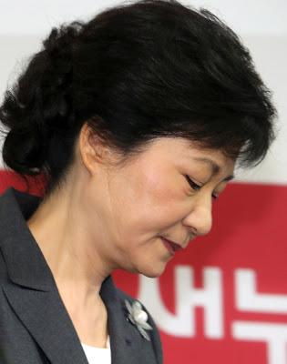 噩運公主朴槿惠