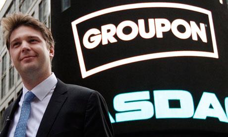 2012全美最差CEO:Groupon執行長Andrew Mason