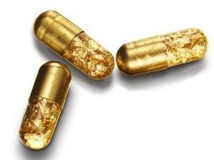 黃金製成藥丸