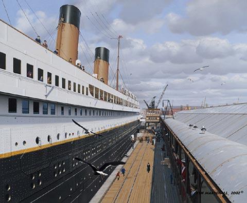 鐵達尼號展覽館
