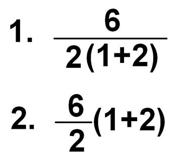 6÷2(1+2)