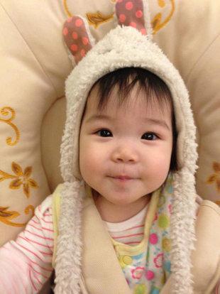 鍾欣凌女兒兔寶