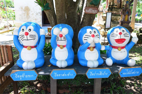 泰國哆啦A夢廟