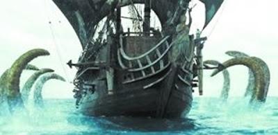 北海巨妖巨大觸角