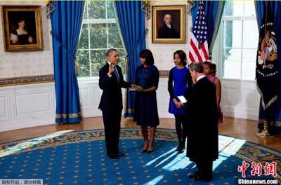 奧巴馬就職