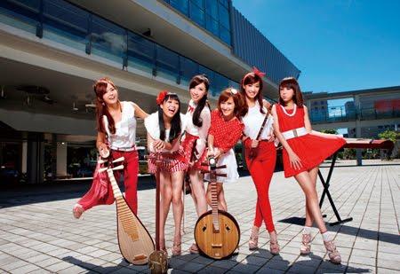 國樂美少女團
