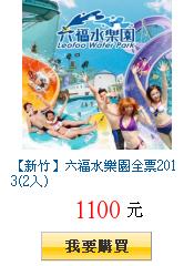 【新竹】六福水樂園全票2013(2入)