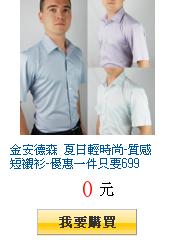 金安德森 夏日輕時尚-質感短襯衫-優惠一件只要699