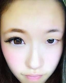 日本美眉流行「半顏妝」 根本就是易容術嘛!
