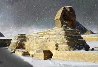 埃及首次下雪