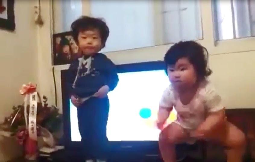 韓國小孩的搞怪舞(順便看一下韓國人原本是長怎樣的嗎?)
