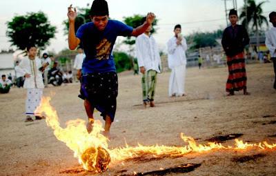 印尼火焰足球