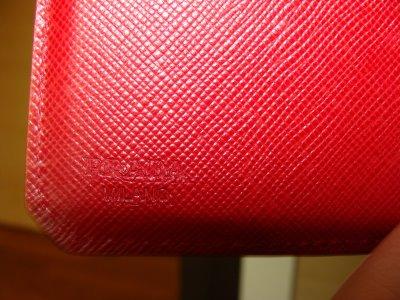 Prada Saffiano Corner Wallet-4_8276