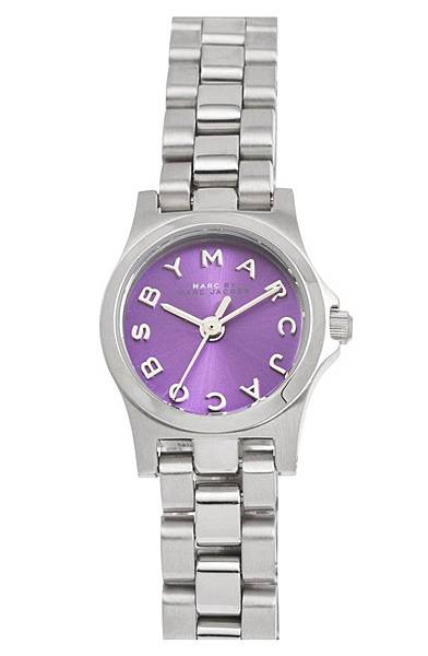 MARC-BY-MARC-JACOBS-Henry-Dinky-Bracelet-Watch-Silver-Purple