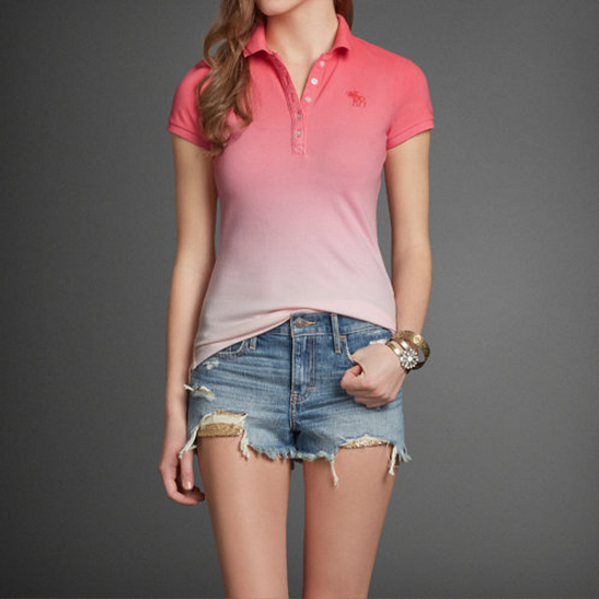Womens Victoria Polo Womens Flagship Exclusives Abercrombie.com