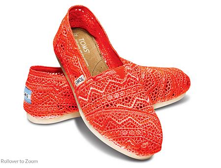 Neon Coral Zig Zag Crochet Women's Classics   TOMS.png