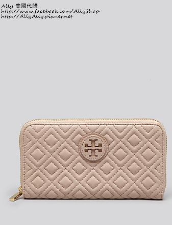 Tory Burch Wallet - Marion Quilted Zip Continental   Bloomingdale