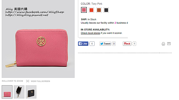 Tory Burch Coin Case - Robinson Zip   Bloomingdale