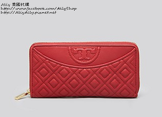 Tory Burch Wallet - Fleming Open Flat Zip Continental   Bloomingdale