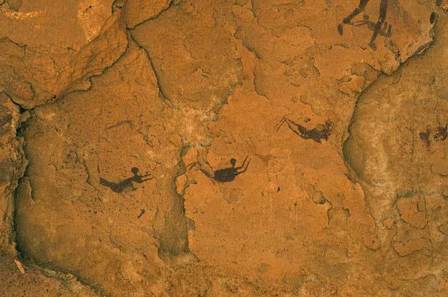 位於南非的泳者洞穴( Cave of Swimmers)
