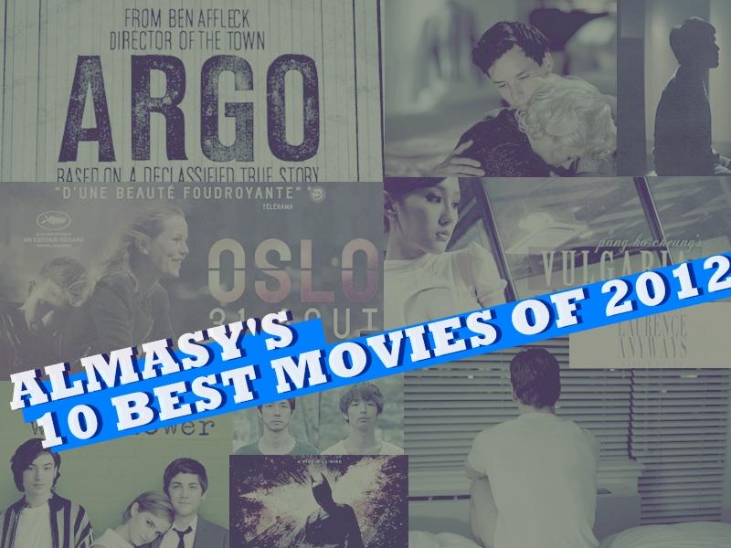 【2012年度】艾莫西的2012年度十大電影(almasy's 10 best movies of 2012)