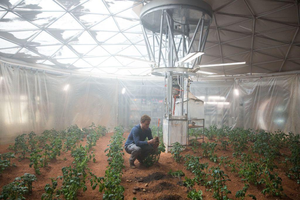 《絕地救援》(The Martian )