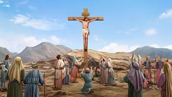 010-主耶稣被钉十字架-中景-ZB-20180709
