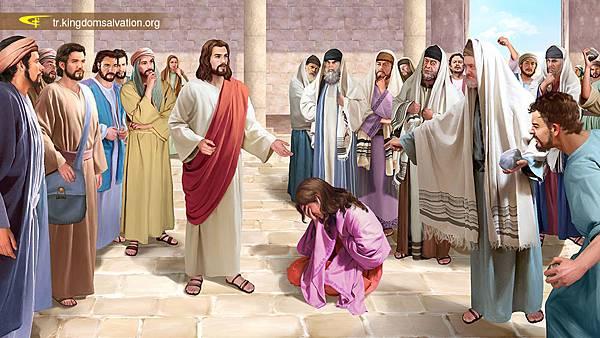 法利赛人把行淫妇人带到耶稣面前(修改)_400-.jpg