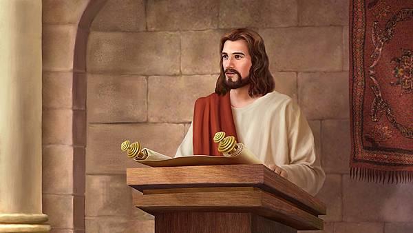 全能神教會圖片—耶稣受浸后的正面画像_764-.jpg