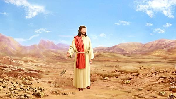 主耶稣在旷野受试探(石头变成食物)-(2).jpg