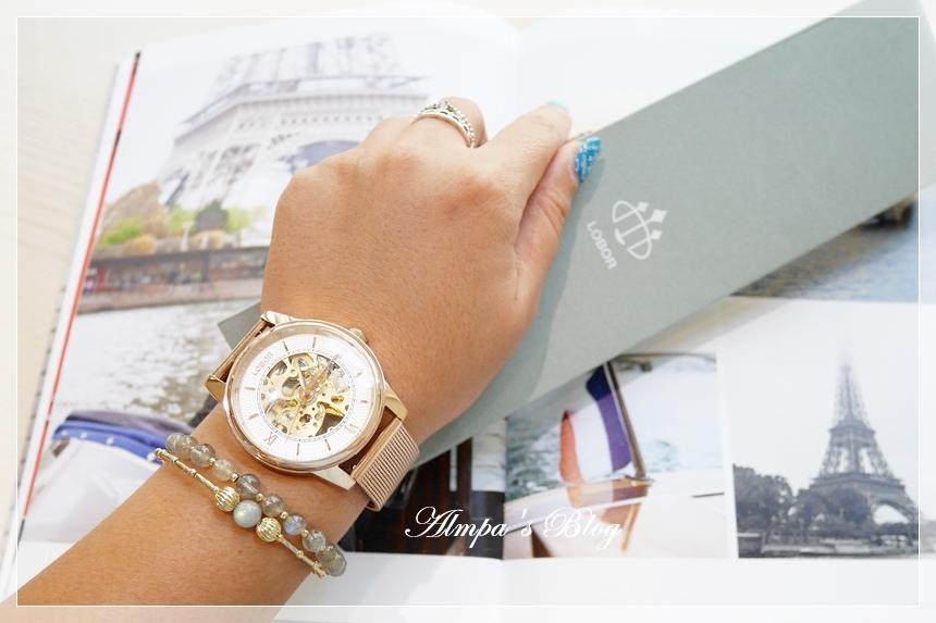 LOBOR 鏤空機械錶