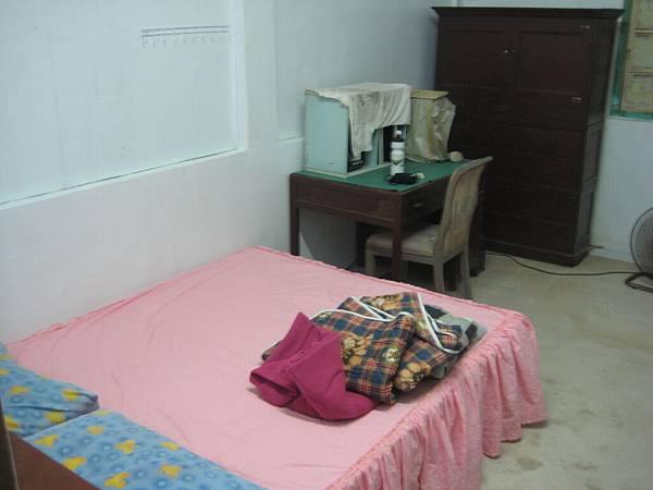 黃爸爸家的房間