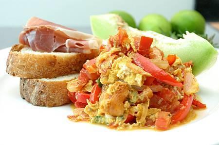 早午餐-巴斯克炒蛋