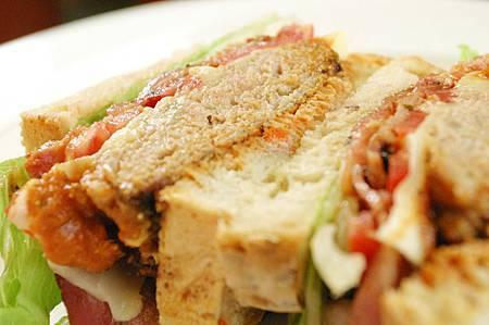 豪華全手工三明治