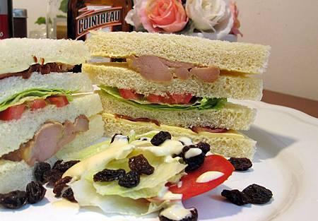 巴黎總匯三明治