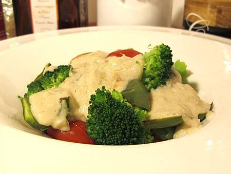 優格咖哩烤時蔬(蔬食)