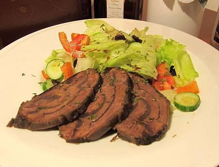 匈牙利牛肉沙拉