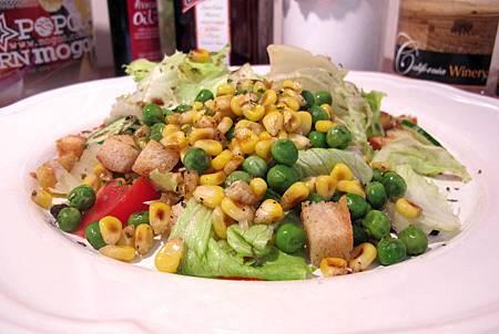 烤玉米青豆沙拉(全素)