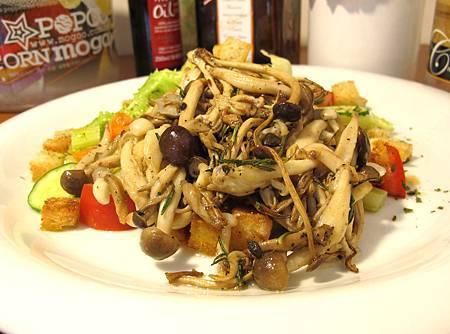 迷迭香綜合鮮菇沙拉