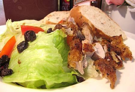 義大利烤雞腿沙拉