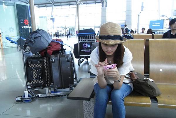 仁川機場 - 驚人的行李