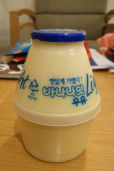 香蕉牛奶 (藍蓋) - ₩900