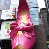梨大 - 看到高跟鞋就知道梨大到了!
