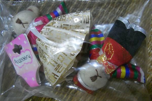 韓國服飾熊熊吊飾 - ₩6000